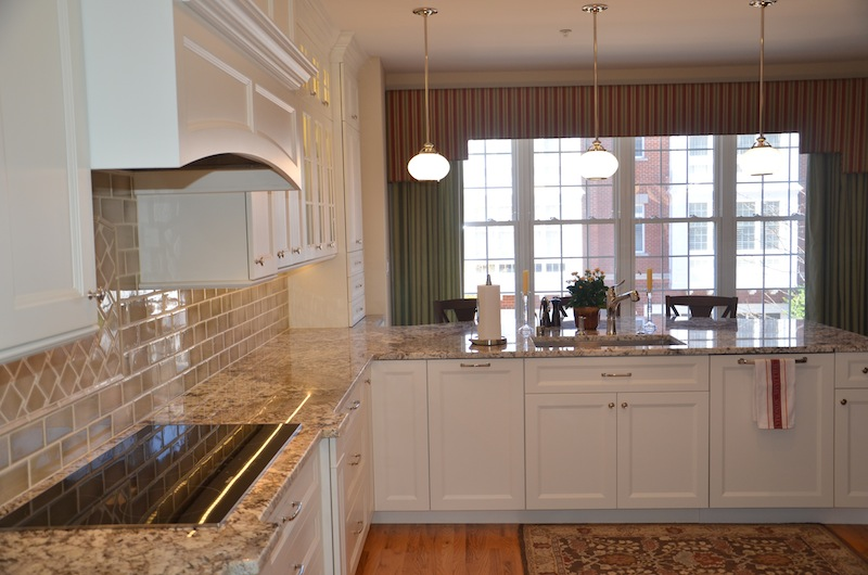 Classic Townhome Kitchen Remodel Reston Virginia