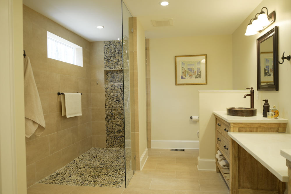 Log Cabin Renovation Madison VA Brannock Enterprises - Bathroom remodel madison